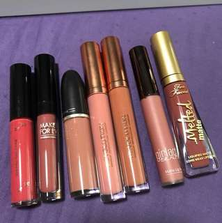 Assorted lipsticks on clearance