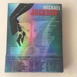 Rare Original DVD Michael Jackson Ultimate Collection