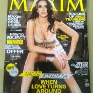 Majalah Dewasa MAXIM