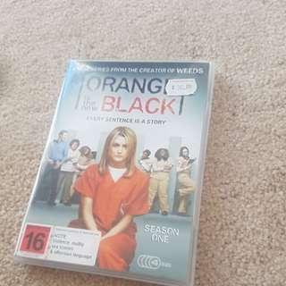 season one orange is the new black dvd