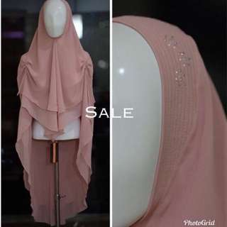 Si.Se.Sa - Khimar/Hijab Fania with Swarovski (New Model)
