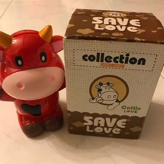 Cattle Love Coin Bank