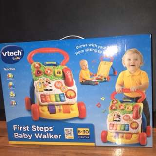 v-tech walker and ingenuity baby chair