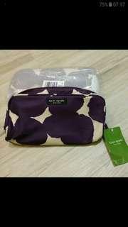 全新Kate Spare 化妝袋