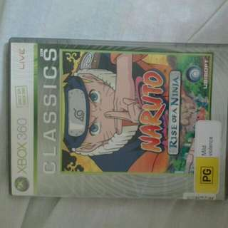Naruto Rise Of A Ninja On Xbox 360