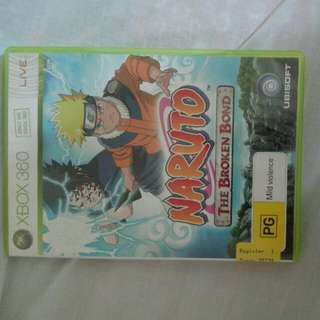 Naruto The Broken Bond On Xbox 360