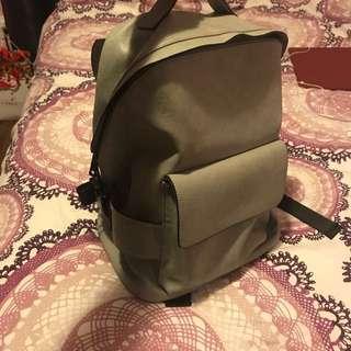Aldo Unisex Leather Backpack