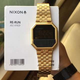 Nixon Rerun All Gold Authentic