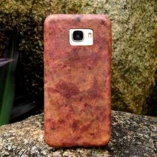 Samsung C7 皮革手機殼 手機套 純手製 handmade leather phone case cover