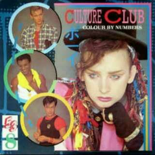 arthcd CULTURE CLUB Colour By Numbers early JAPAN Press Toshiba EMI CD + Bonus track 'Time (Clock Of The Heart)' (Karma Chameleon, It's A Miracle, Miss Me Blind, Victims, Church Of The Poison Mind etc)