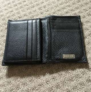 Aviator Genuine Leather Wallet