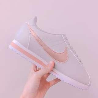 可議價 Nike classic cortez 阿甘鞋 玫瑰金