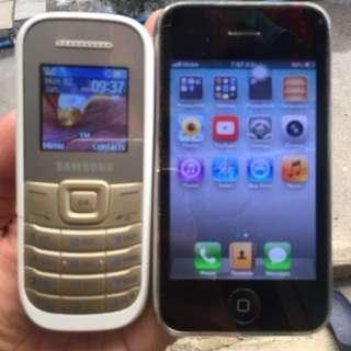 Iphone 3gs and samsung keystone