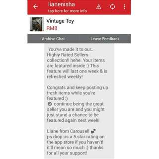 Highly Rated Seller  Your Trusted Seller