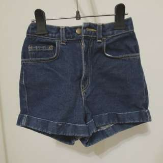 AA High-Waisted Jean Shorts 24