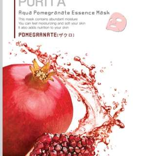 PURITA AQUA POMEGRANATE ESSENCE MASK