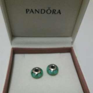 Pandora Murano Charms Set Of 2