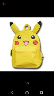 BNIB PIKACHU BACKPACK FOR KIDS