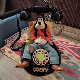 Goofy Animated Talking Telephone Collectible