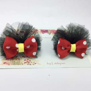 baby/kids mickey mouse hair clip
