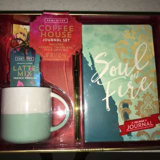 Journal and Coffee Kit
