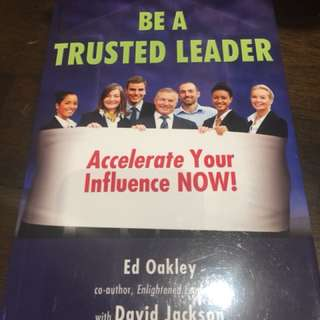 Be a Trusted Leader