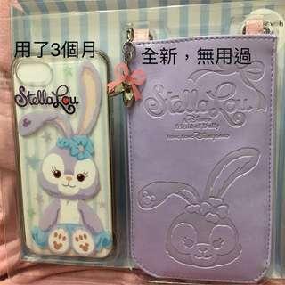 HKDisneyland Stella Lou iPhone 6/6s/7 case set