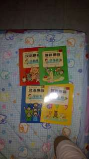 Chinese Books han yu pin ying all for $4