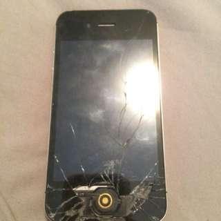 Broken iPhone for parts