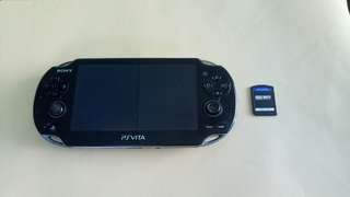 Psp Vita pch 1000 model with call of duty game