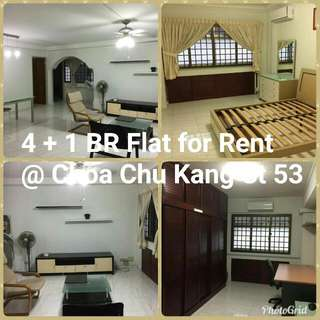 4 + 1 Room Flat For Rent