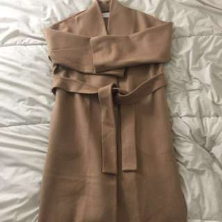 OAK+FORT WRAP COAT