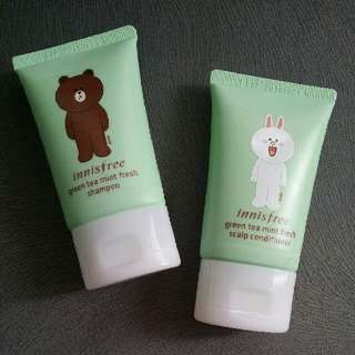 Innisfree Brown Cony Shampoo Conditioner