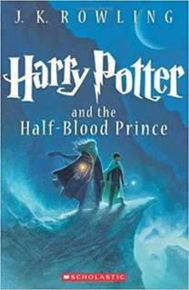 HARRY POTTER AND THE HALF BLOOD PRINCE BOOK!