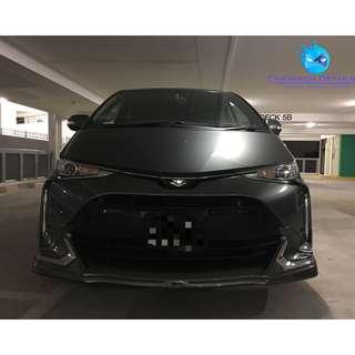 Toyota Estima (Platinium 9H Coating + Paint Restore)