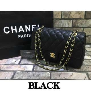 Chanel Classic Medium Double Flap Black