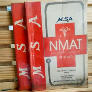NMAT Reviewer and Companion Volume (2 books)
