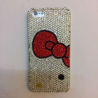 Iphone 5 Hello Kitty Bejeweled HP case