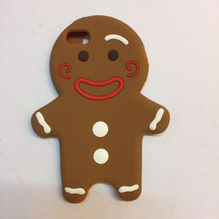 Iphone 5 Gingerbread Man HP Case
