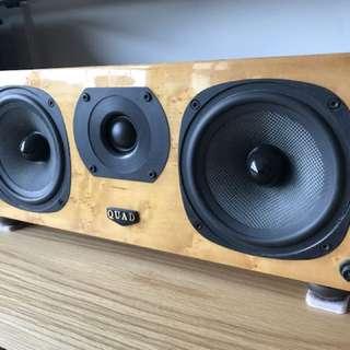 Quad L center speaker