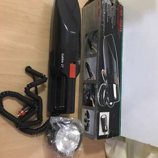 Car vacuum cleaner with light combination