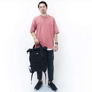 [Re-Stock] Japan Anello Urban Street High Density Nylon Backpack~ Original 100% Authentic ☆AT-B1681