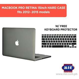 Macbook Pro 15 inch Retina Hard Case with Free keyboard protector