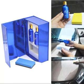 Car-styling 1set 9H Hardness Car Liquid Ceramic Coat Super Hydrophobic Glass Coating Car Polish set