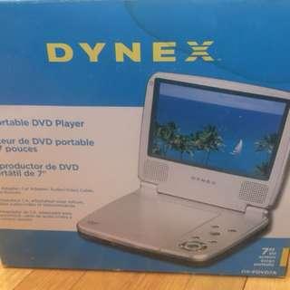 """Dynex 7"""" Portable DVD Player"""