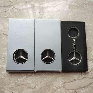 Mercedes Original Keychain