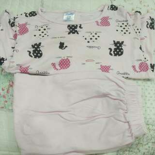 Anakku pyjamas for 4T girl