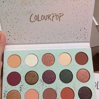 Colourpop pallete eyeshadow