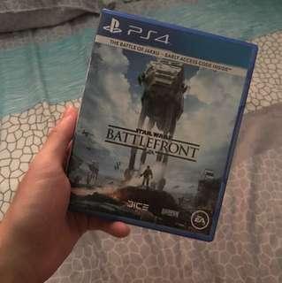 Ps4 Game - Starwars Battlefront