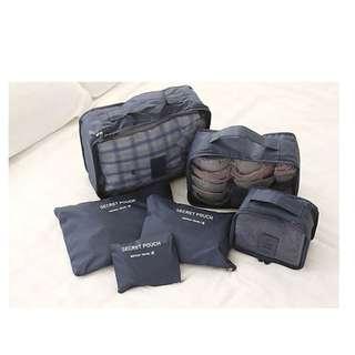 Travelling bag organizer ( 1 set isi 6pcs) - HPR214